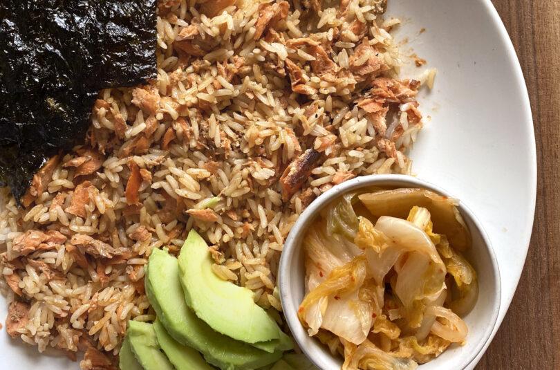 Salmon Rice Bowl – TikTok Trend for Creative Use of Leftovers